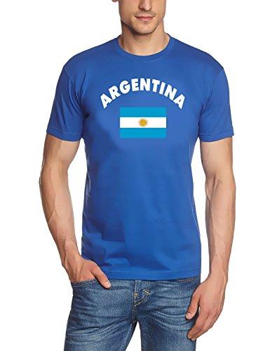 Coole Fun T-Shirts Maradona t-Shirt DIE Hand GOTTES NR.10 Argentinien vorne+hinten, Grösse: M