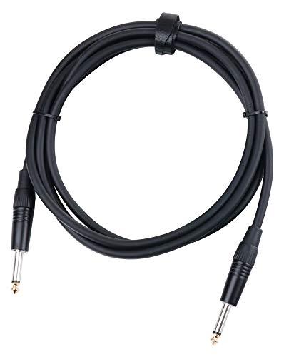 Pronomic BOXJ-2.5 Lautsprecherkabel DJ PA Boxenkabel (Professionelles Boxenkabel, 6,3 mm Klinke, Länge 2,5m, säure- und ölfest, Spannzangen-Zugentlastung)