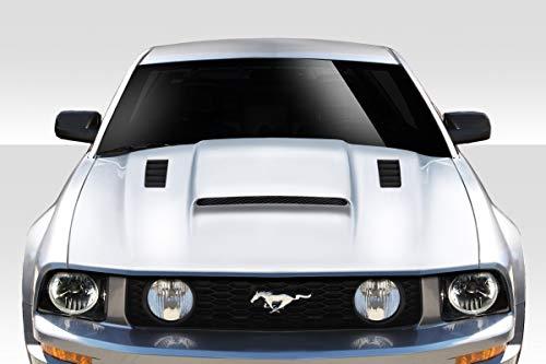 Duraflex ED-JZX-520 CVX Version 3 Hood - 1 Piece Body Kit - Fits Ford Mustang 2005-2009