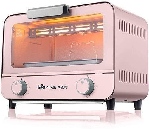 Elektrische Brood Making Machine, kunnen elektrische oven Thuis Bakken Mini-four 9 liter inhoud regelmatig aangepast, Blue 8bayfa (Color : Pink)