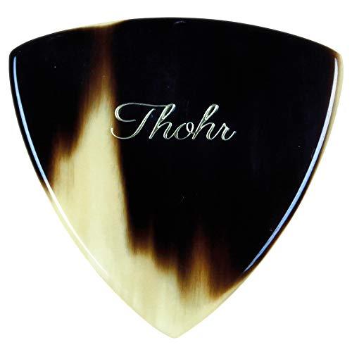 Thohr Triangle Horn Pick (Plektrum aus Horn, handgefertigt in Deutschland) (Stärke ca. 1,5 mm)