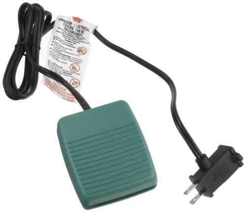 Linemaster-971-DC3C All-Purpose Foot Switch - Green