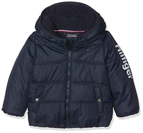 Tommy Hilfiger Baby-Jungen THKNB Jacket Jacke, Blau (Black Iris 002), 62