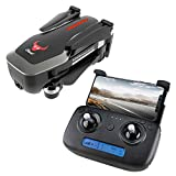 DishyKooker Beast SG906 GPS 5G WiFi FPV with 4K Ultra Clear Camera Brushless Selfie Foldable RC Drone Quadcopter RTF Black RC Drone Quadcopter Remote Control Drone