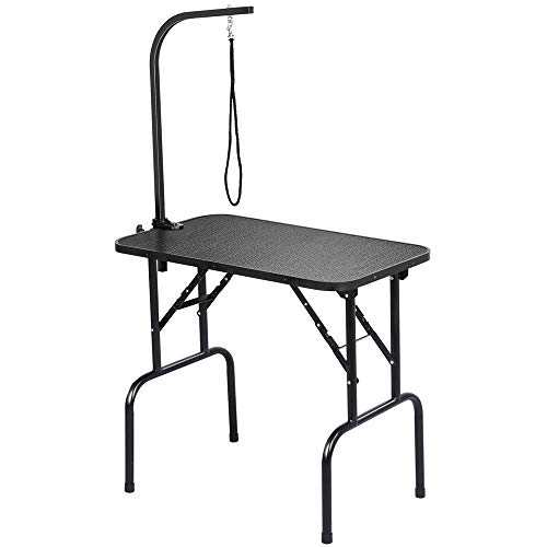Yaheetech Pet Dog Grooming Table Adjustable Height - 32