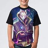 バトルロイヤル フォートナイト Y5D 半袖 クルーネック キッズ tシャツ カジュアル ファッション 子供