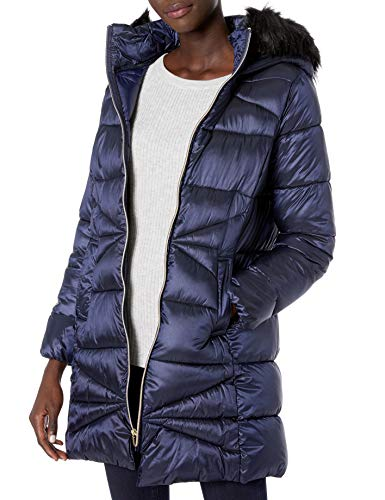 chouyatou Mens Ultra Light Packable Stand Collar//Hooded Down Alternative Jacket