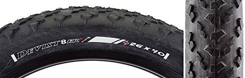 Origin8 Devist-8er 2 Tire - 26' x 4.0, Wire Bead, Belted, Black/Black