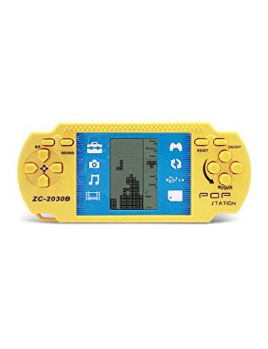 Retro PSP mattone portatile palmare mattone brick Kids Electronic Brick giochi giocattoli Built-in 23 giochi con 2 batterie AAA sono utilizzati per più di 1 mese Good Gift for Kids