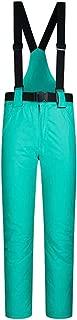 Janjunsi Ski Pants for Men Women - Water Repellent Trousers with Adjustable Waist, Detachable Braces Ski Outfit, Pockets, Snow Pant