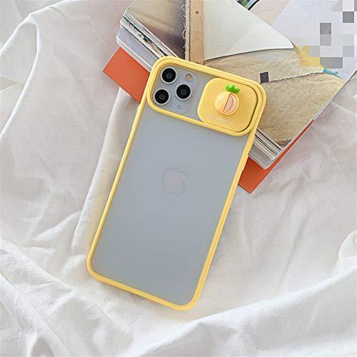 AAA&LIU Funda para teléfono con protección para Lentes de cámara para iPhone 11 Pro MAX X XR XS MAX Funda de Frutas 3D para iPhone 7 8 Plus, b, para iPhone11 Pro MAX