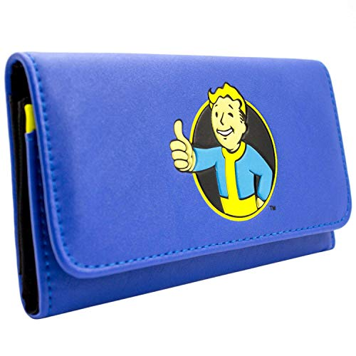 Bethesda Fallout 4 Thumbs Up Vault Blau Portemonnaie Geldbörse