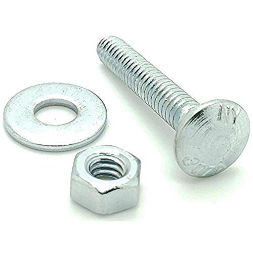 Pack of 350 Elevator Bolts 3//8-16 X 2