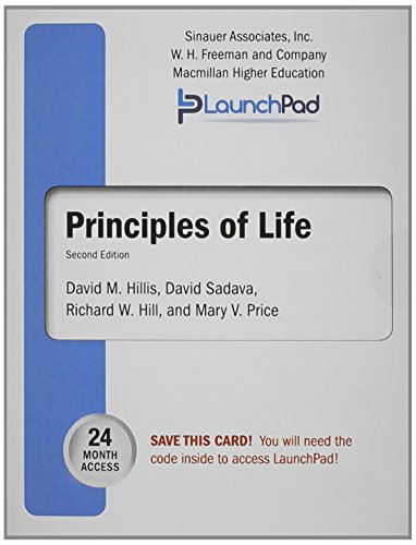 Launchpad for Hillis' Principles of Life, Twenty-four Month Access