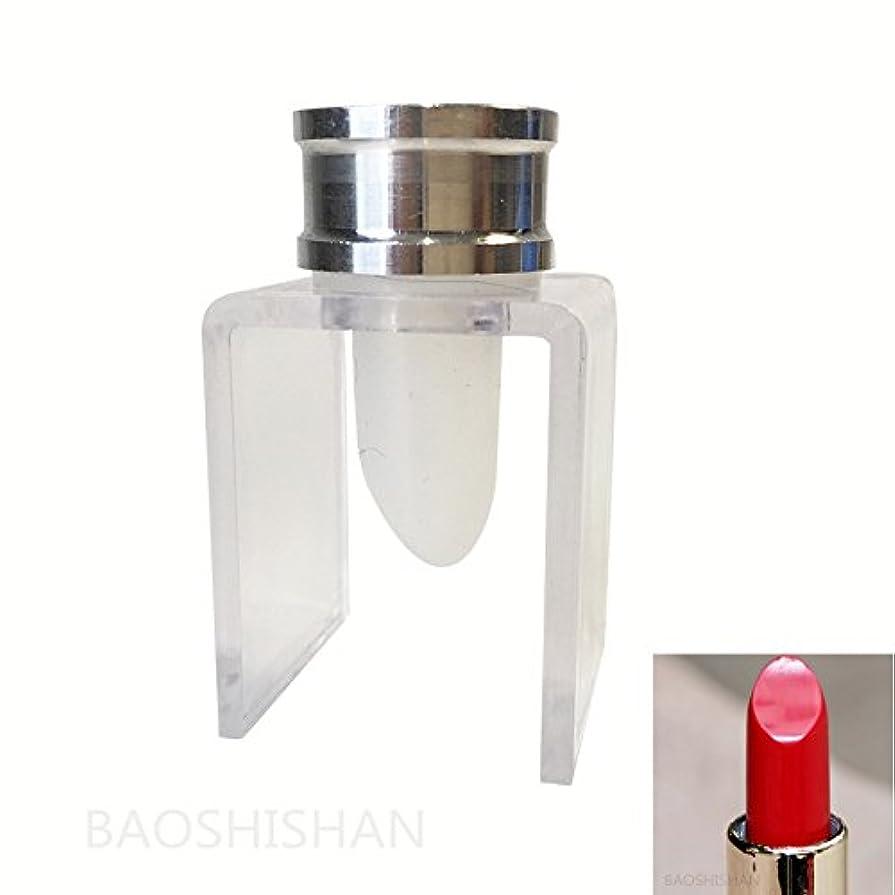 ジャンピングジャック白い規制するBAOSHISHAN リップスティック 金型ホルダー リップバーム モールド 作り口紅など用に 12.1mm