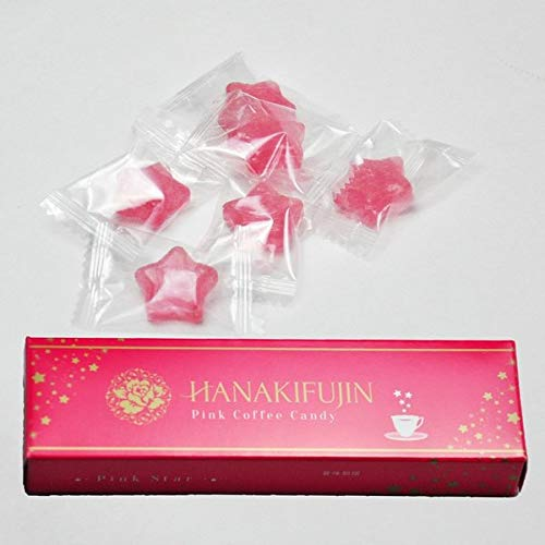 ピンク珈琲キャンディ 華貴婦人 21g×10本 ブリリアントアソシエイツ まるでいちごミルクのようなピンク色なのにコーヒーの味 贈り物に