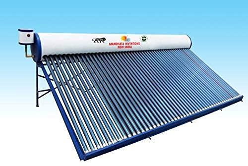 MANDHATA INVENTIONS 200LPD Solar Water Heater (Multicolour),...