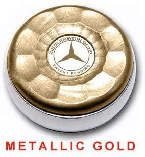 Great Features Of Zieglerworld Table Medium Shuffleboard Puck Weights - 4 Pucks - Metallic Gold Colo...