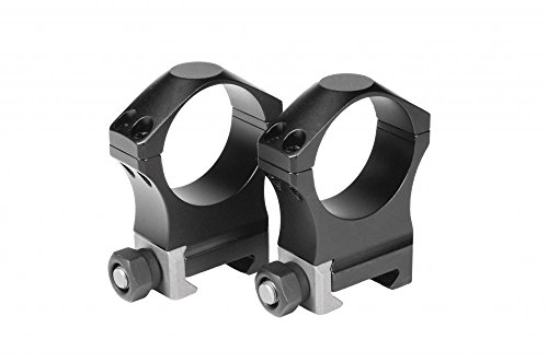 NightForce Ultralite 30mm Ring Set, High, Titanium/Alloy, 1.265, A108
