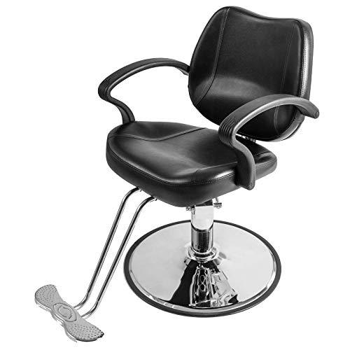 Artist Hand Friseurstuhl Hydraulischer Salonstuhl Drehbarer Verstellbarer Stuhl Salon Ausrüstung für Friseur Schönheit Tattoo Friseur Rasieren 150 kg Kapazität