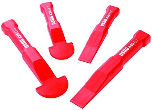 USAG U04260005 - Juego de 4 rasquetas separadoras plásticas