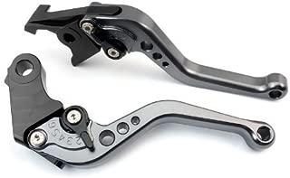 CTG CH-207 Adjustable CNC short Brake and Clutch Levers for TRIUMPH BONNEVILLE/SE/T100/BLACK 2006-2014-Grey
