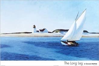 The Long Leg by Edward Hopper 24x36 Art Print Poster Wall D?cor American Museum Master