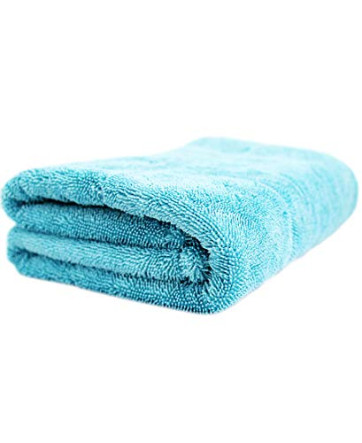 Wizard of Gloss Blue Marlin Edgeless Drying Towel 1500GSM 80x50 Trockentuch