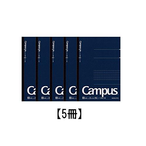『コクヨ キャンパスノート ドット入り B罫 50枚 A5 ノ-105BT-DB 【5冊セット】』の1枚目の画像