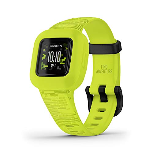 Garmin vivofit jr. 3, Fitness Tracker for Kids, Includes Interactive App Experience, Swim-Friendly, Up To...