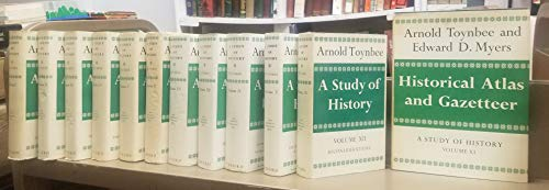 A study of history. The COMPLETE 12 vol. set, with the atlas (vol. 11) and Reconsiderations (vol. 12).