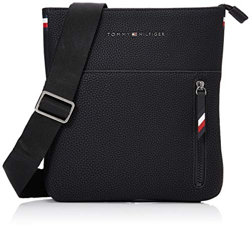 Tommy Hilfiger Essential Crossover, Besace homme, Noir...