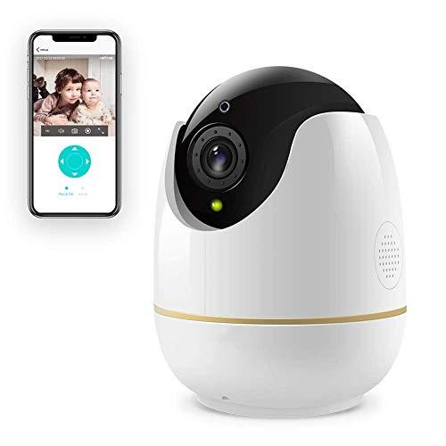 HYLH 1080P WLAN IP Kamera Uuml;berwachungskamera,Home/Baby Monitor mit Schwenk und Neige, Zwei-Wege Audio, Nachtsicht Funktion,Modell QX-IPCGZ01