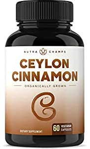 Truly Premium Organic Cinnamon- Looking for the perfect Cinnamon that offers all the health benefits you've been hearing about? Look no further. NutraChamps delivers you the real deal, sourced directly from Sri Lanka (formerly known as Ceylon), the w...