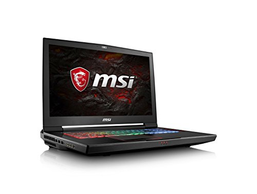 MSI GT73VR TITAN-427 17.3' 120Hz 5ms Display Extreme Gaming Laptop Core i7-7820HK GTX 1070 16GB 1TB VR Ready