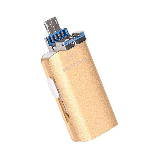JTY Flash Drive Memory Stick, Thumb Drive USB 3.0 Uitbreiding van extern opslaggeheugen Compatibel met IOS Android en Computers