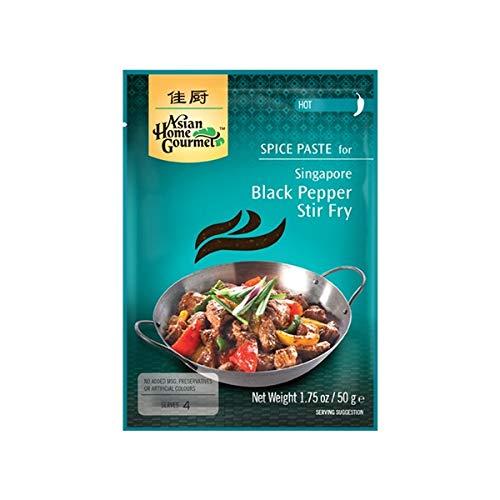 Spice Paste- Singapore Schwarzen Pfeffer Pfannengericht Stir Fry 50 Gramm Hot soße Würzpaste