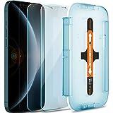 Spigen Tempered Glass Screen Protector [Glas.tR EZ FIT] Designed for iPhone 12 Pro Max - Sensor Protection / 2 Pack