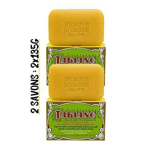 Savon au Soufre et Glycérine - Double Pack de 2 Savons...