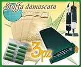S&G group Sacca FILTRANTE+Sacchi Filtro+PROFUMINI Compatibile ASPIRAPOLVERE Folletto 121