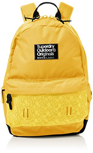 Superdry Damen Neoprene Mirror Montana Rucksack Gelb (Acid Yellow)