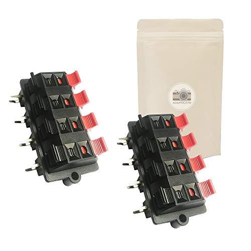 2X 8-poliger Anschlussblock für Lautsprecheranschluss