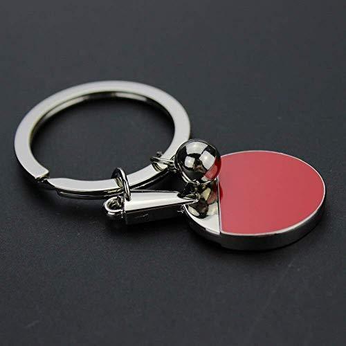 AMITD Schlüsselbundkreative Geschenke Zubehör Tischtennis Badminton Tennis Schlüsselanhänger Schläger Schlüsselbund Schlüsselanhänger