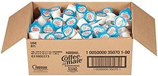 Nestle Coffee Mate Coffee Creamer, French Vanilla, Liquid Creamer Singles, 2 Cases of 180 each