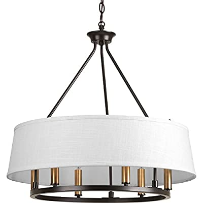 Progress Lighting Traditional/Formal 6-60W Cand Chandelier