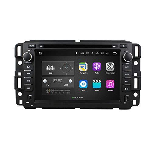 7 Pollici Touchscreen Lettore DVD Android 7.1 Autoradio per Chevrolet Silverado(2008-2013)/Impala(2006-2013)/Avalanche(2007-2012), Navigazione GPS DAB+ Radio Bluetooth