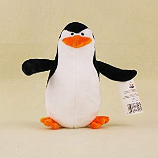 EOFK 5 Classic Plush Dolls Penguin Per Lion Alex Zebra Marty King Julien Hip Otamus Gloria Kids Gifts Toys Baby Boy Must Haves Friendship Gifts Childrens Favourites Superhero Cupcake Toppers