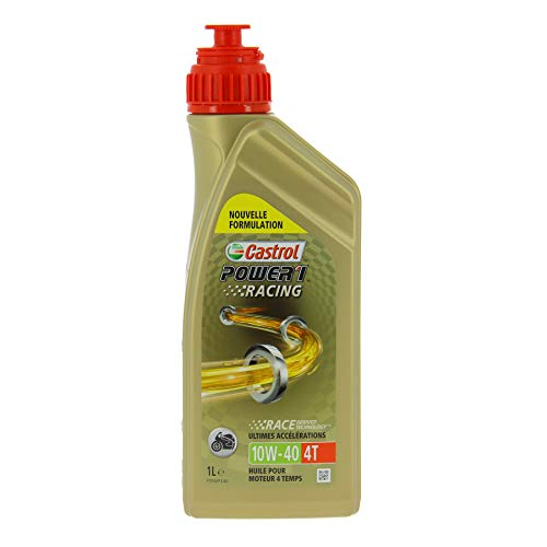 Castrol 14E94A Olio Castrol Power Racing 4t 10w-40...