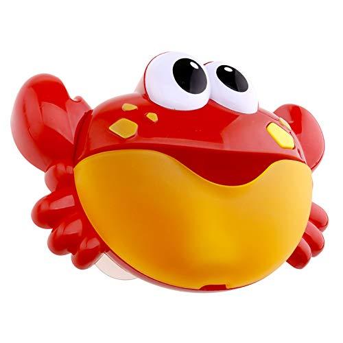 Automatische Krabben Bad Dusche Spielzeug Blase Maschine für Kinder Baby Shower