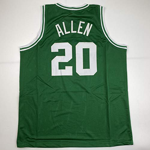 Unsigned Ray Allen Boston Green Custom Stitched Basketball Jersey Size Men's XL New No Brands/Logos